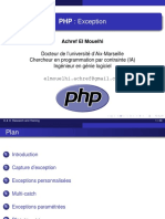 Cours Php Exception