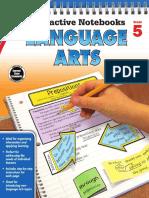 5 Interactive Notebooks Language Arts Grade 5