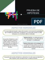 4.2 PRUEBA DE HIPÓTESIS