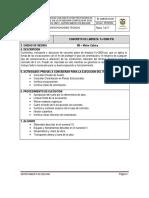 especificaciones tecnicas 3 cimentacion