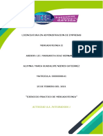 A.A. INTEGRADORA 1 EJERCICIO practico de mercado