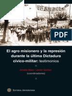 El agro misionero y la represión