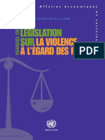 Handbook for legislation on VAW (French)