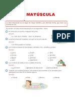 Ficha de La Mayuscula