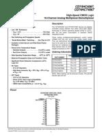Data Sheet Mux 16