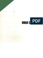 1983. Catálogo Omar Carreño. Texto Susana Benko