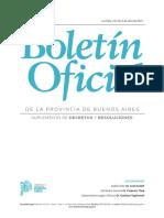 El Decreto provincial