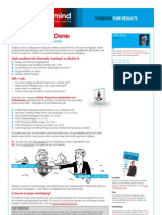 Getting Things Done Masterclass voor professionals [MM-NL-SB]