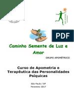 Curso de Apometria e Terapêutica Das Personalidades Psíquicas