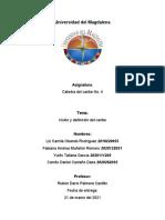 (T) Vision y definicion del caribe