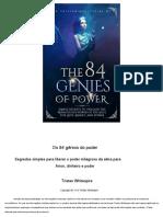 Os 84 gênios do poder - Tristan Whitespire