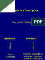 Clase I E descriptiva Juan