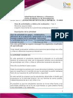 (Por Pandemia)Guía de Actividades y Rúbrica de Evaluación - Unidad 3 - Fase 4 - Memorias Argumentales