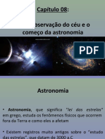 A Observação Do Céu e o Começo Da Astronomia