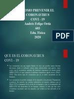 COMO PREVENIR EL CORONAVIRUS