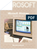 Windows 1.0 Benutzerhandbuch