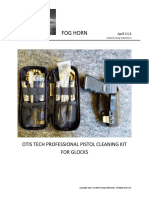 Otis Tech Professional Pistol Cleaning Kit for Glocks