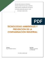 Unidad 4. tecnologias ambientales