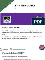 E-file your 990-PF  Form    Private Foundation