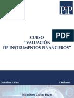 CursoValucioonDeInstrumentosFinancieros2016CPV