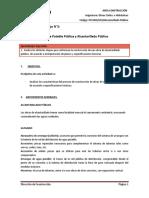 G03 Obras Civiles e Hidráulicas Alcantarillado Público