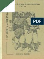 1993 - Candía Quispe, Yolanda - Los Indios de Bolivia, 1825-1881