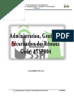 ATSP004 Administration des reseaux leçon 4