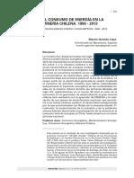 Garrido Lepe, Martín. (2018). El Consumo de Energía en La Minería Chilena. 1906-2013
