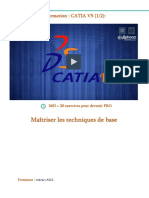 Support Formation Catia