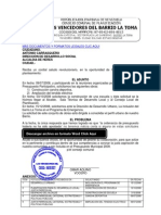 Consejo Comunal Solicitud  de copia Ordenanza de obras aprobadas