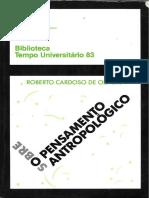 OLIVEIRA, Roberto Cardoso de. Sobre o Pensamento Antropológico