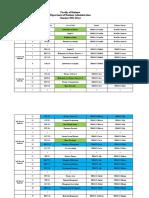 Course Offfer - Summer 2021 (Day)
