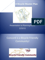 Bicycle Master Plan and Greenway Path Presentation