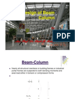Design of Beam Column [Compatibility Mode]