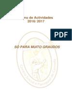 Plano Anual Sénior 2016 2017