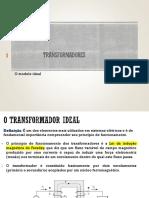 Aula 01 - Transformadores