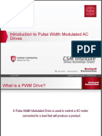 Introduction to PWM AC Drives EIT 2014