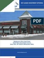 Triple Net Walgreens for sale