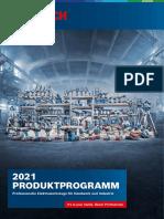 Bosch Professional Produktprogramm 2021