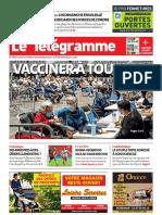 Journal Le Telegramme Pontivy-05!04!2021
