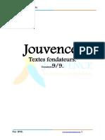 JOUVENCE-TEXTES-FONDATEURS