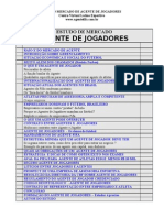 MERCADO DO AGENTE DE JOGADORES