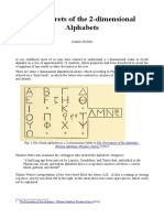The Secrets of the 2-Dimensional Alphabets