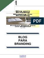 Blog para Branding (Blogging For Branding)
