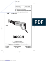 Bosch 114rs5 Reciprocating Saws With Carrying Case