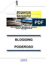 Blogging Poderoso (Powerful Blogging)