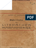 Panorama Da Literatura Maranhense - Mário Martins Meireles
