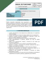 TH-MN-001 - MANUALES DE FUNCION - COORDINADORA DE TALENTO HUMANO