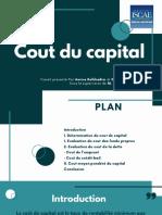 Cout Du Capital