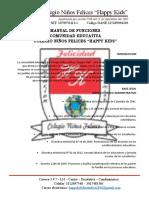 Manual de Funciones Happy 2019 - 2025